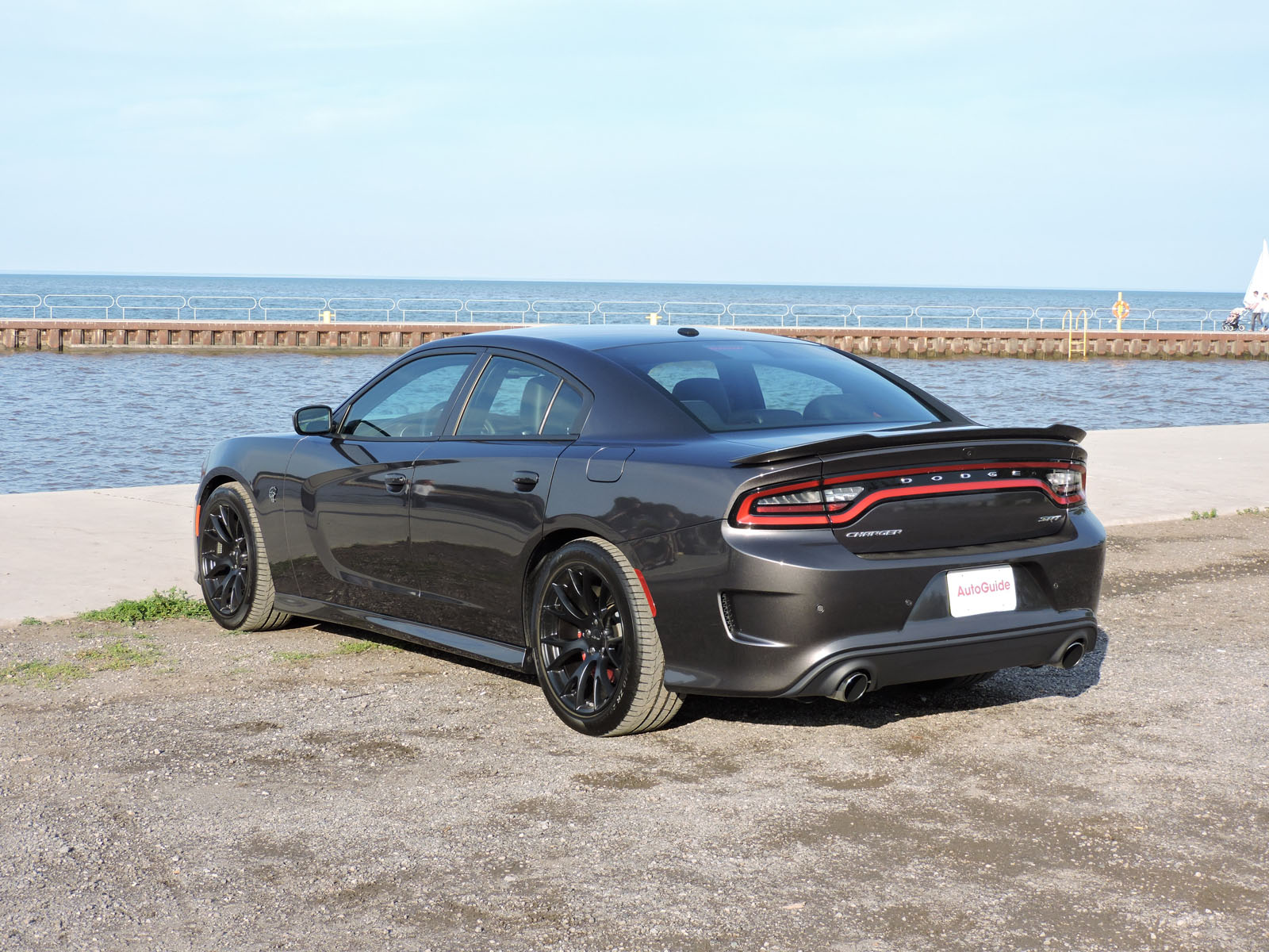 2015 Dodge Charger SRT Hellcat is Baby's First Ride - AutoGuide.com ...
