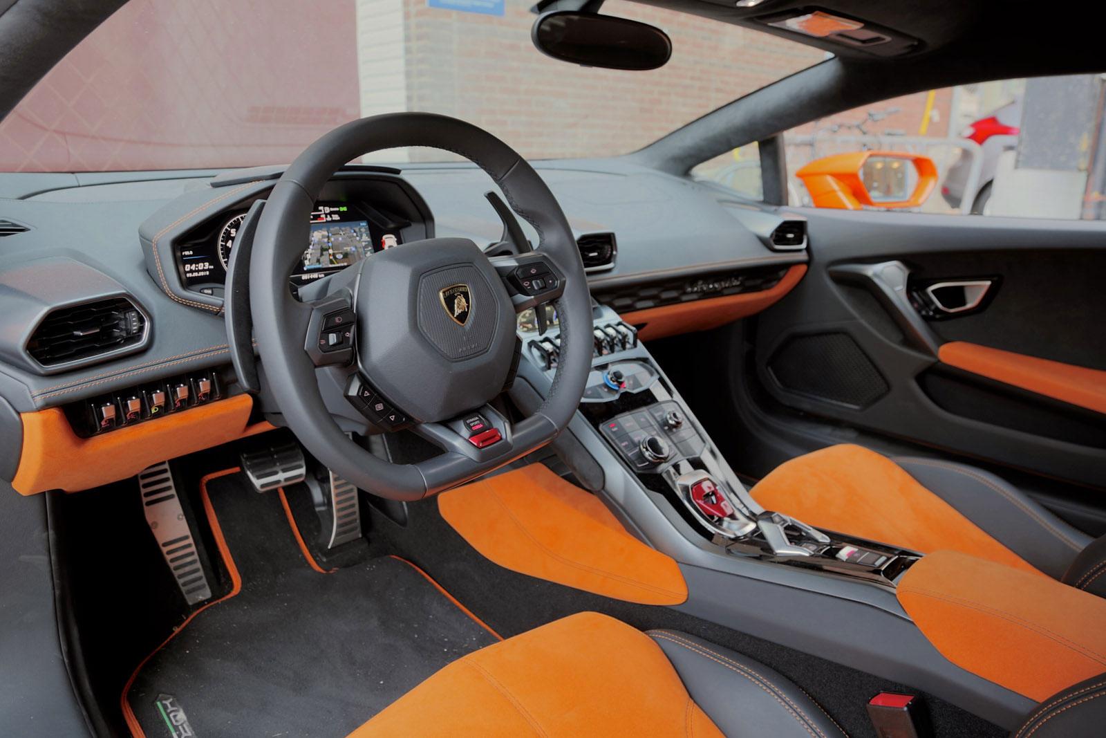 2015 lamborghini huracan orange interior - Lamborghini Huracan Orange Interior