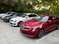 2016 cadillac ats-v review group red