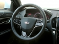 2016 cadillac ats-v review steering wheel