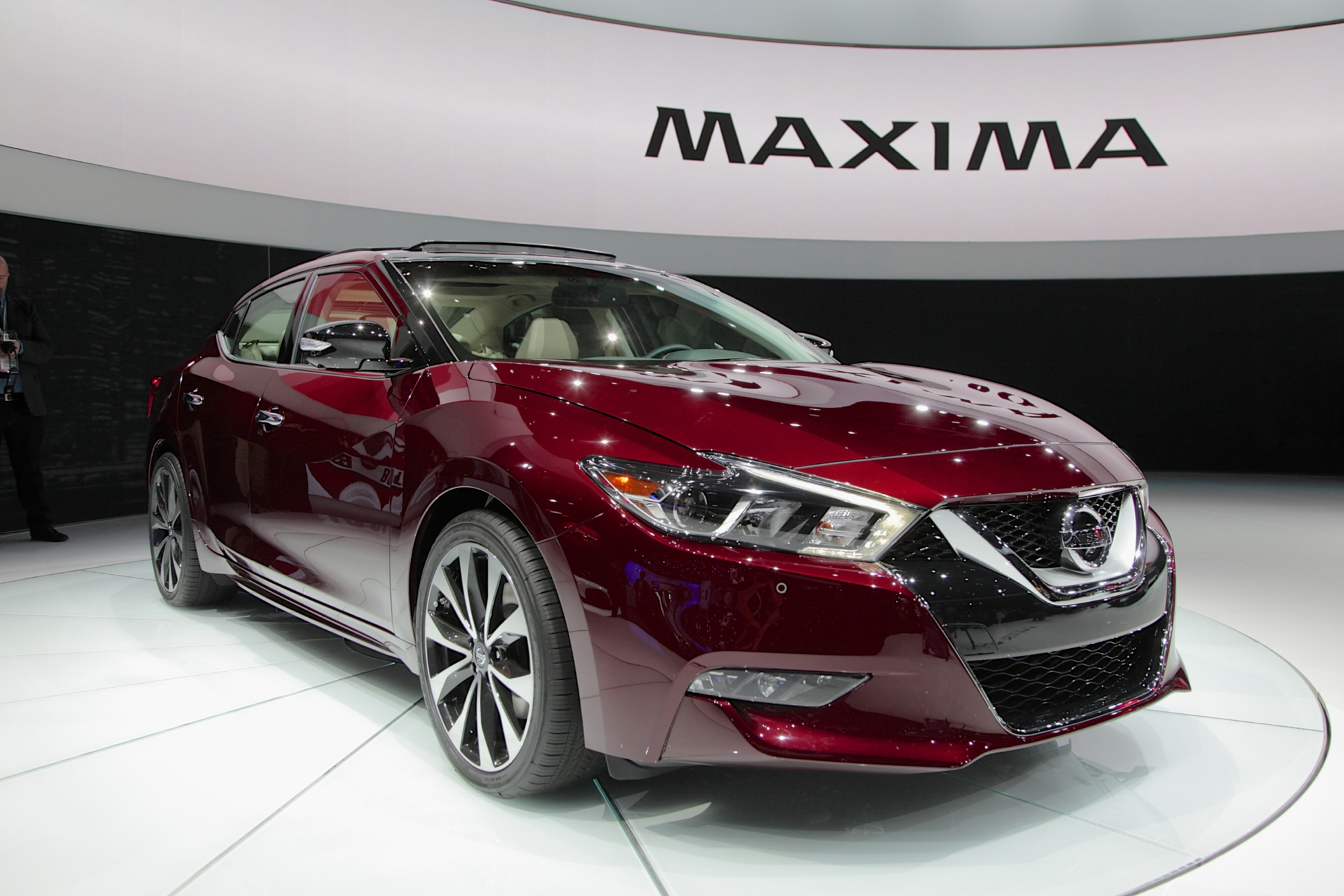 2016 nissan maxima production begins news. Black Bedroom Furniture Sets. Home Design Ideas