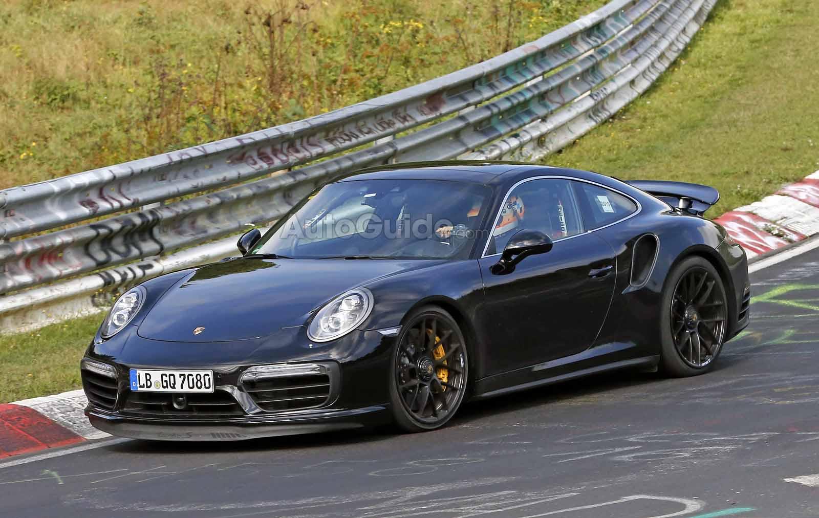 porsche 911 turbo s spy photo 9 - Porsche 911 Turbo S