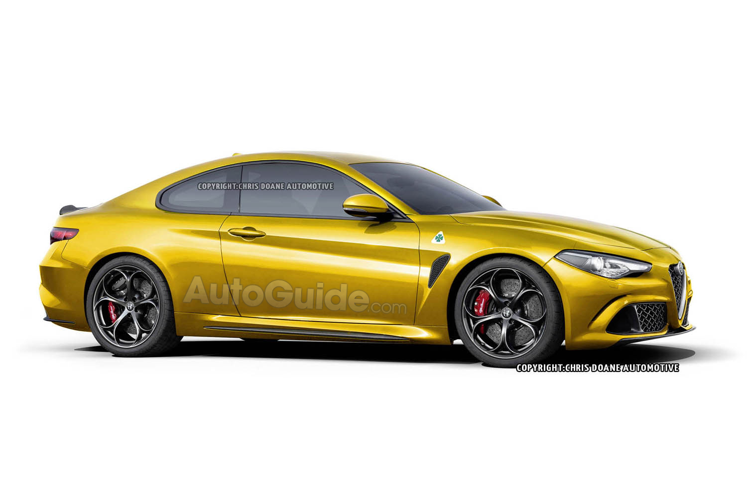 2017 Alfa Romeo Giulia Coupe, Wagon Rendered » AutoGuide.com News