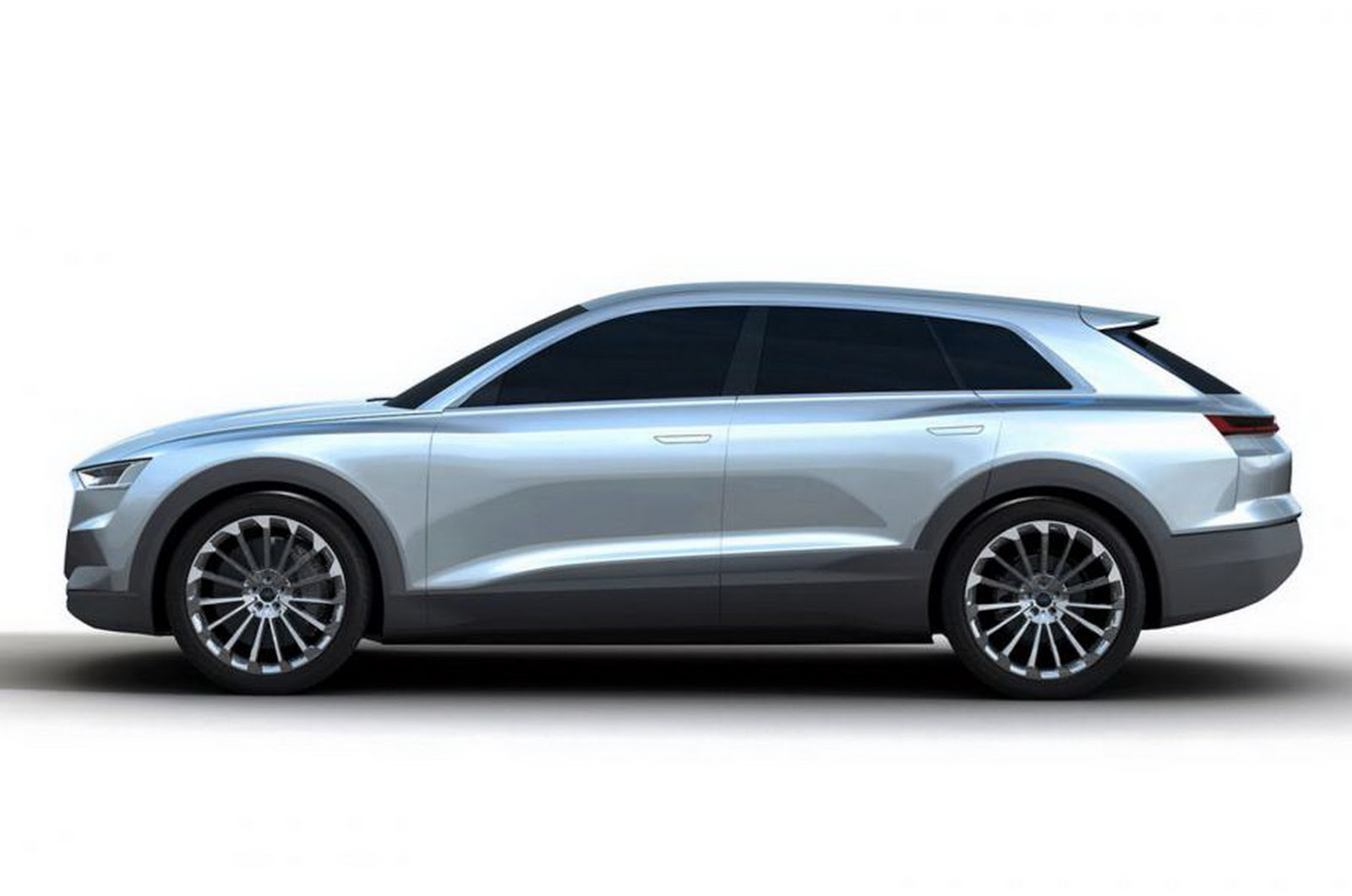 Audi C-BEV Concept is Frankfurt Bound Previewing Q6 EV