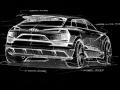 Audi e-tron quattro concept – Exterior Sketch – Rear