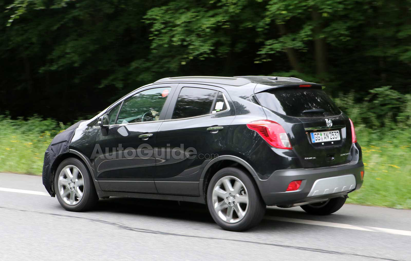2016 Buick Encore Spy Photos - Chevy Trax Forum