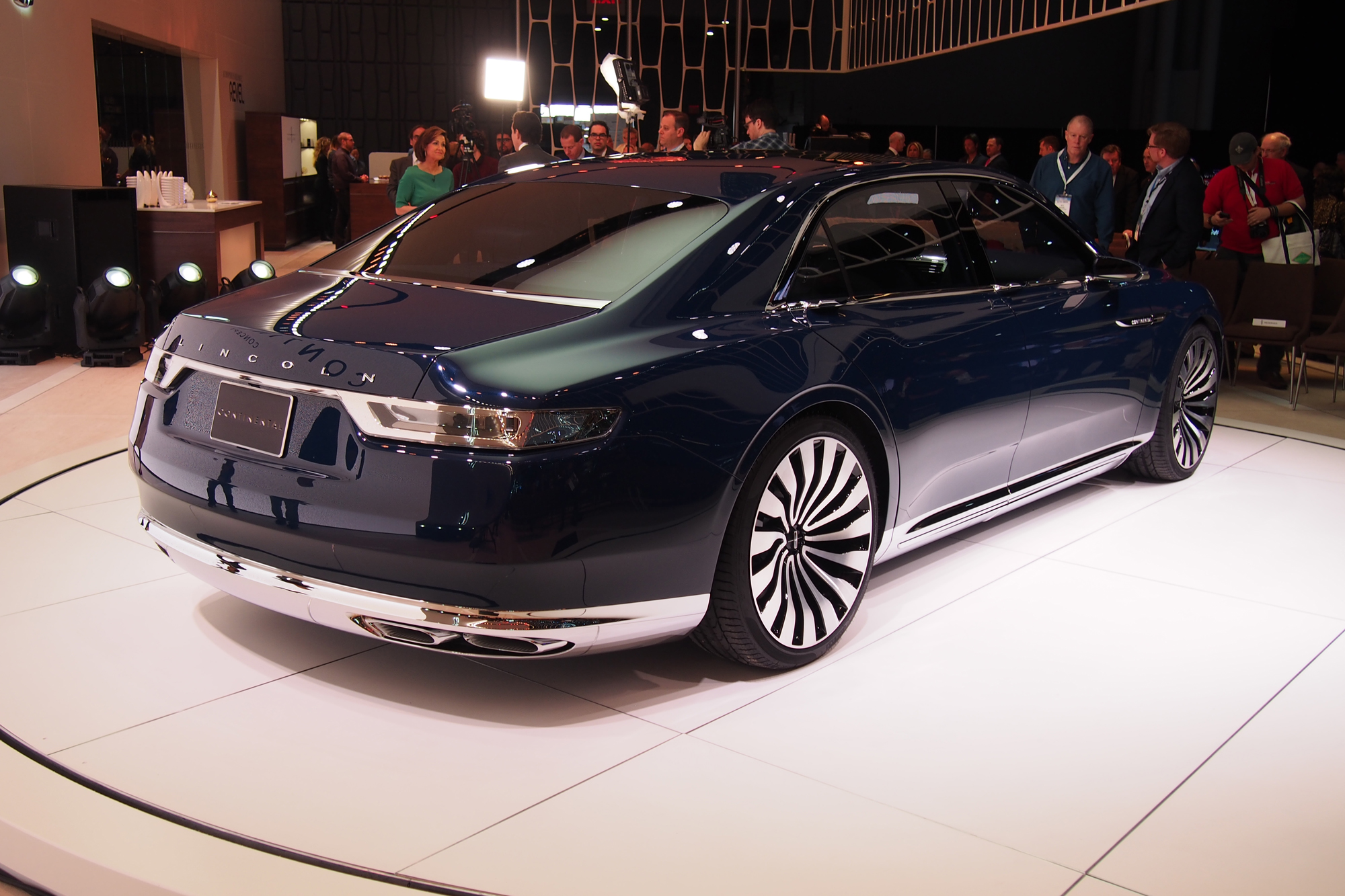 Beautiful Lincoln Continental Concept Video First Look  AutoGuide