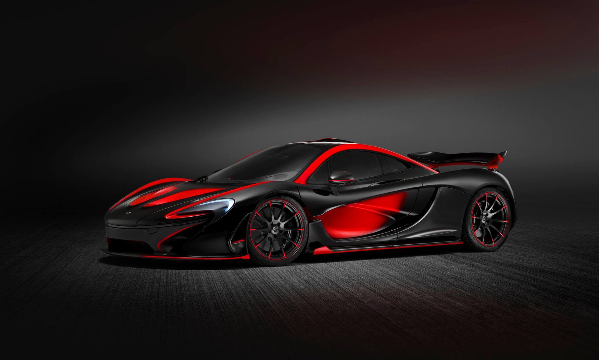 McLaren Special Operations P1 is Sensationally Sinister