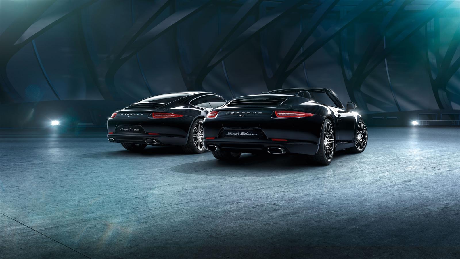 porsche 911 carrera black edition 14 - 911 Porsche Black
