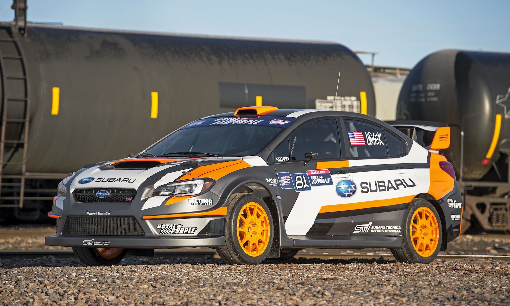 Wrx rallycross